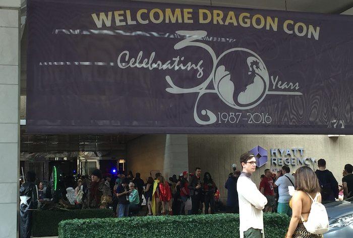 DragonCon 30th Anniversary sign