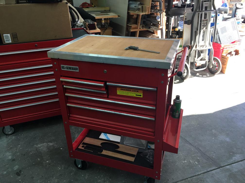 Us General Tool Cart Organization