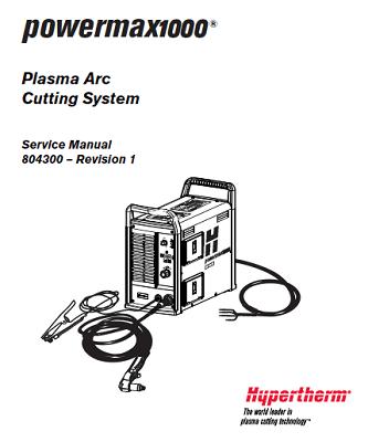 Hypertherm Powermax 1000 Service Manual