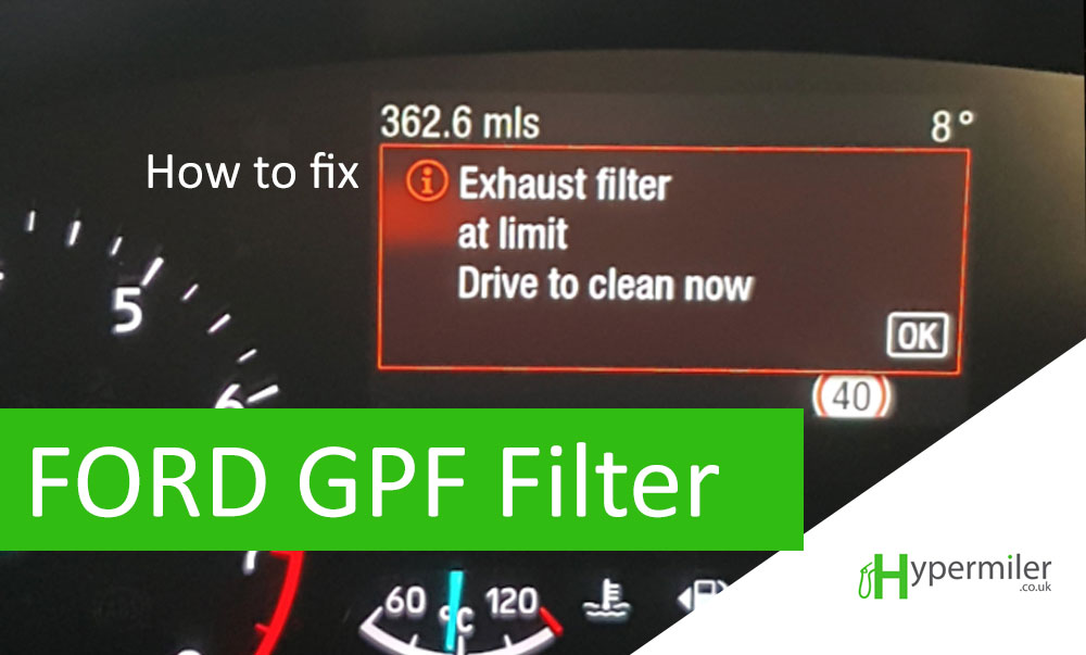 exhaust filter limit reached drive to