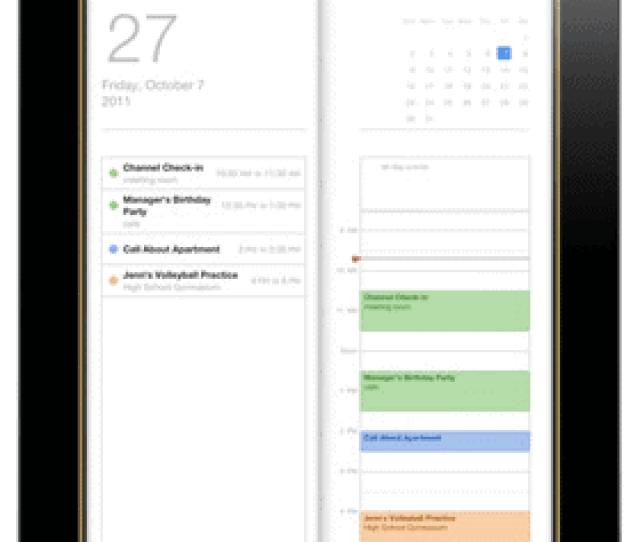 Sync Ipad Calendars