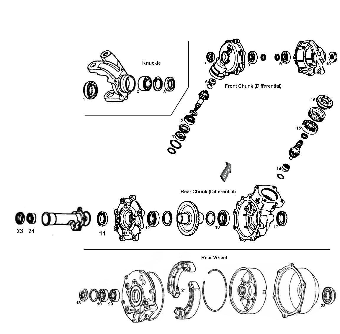 Frony Weel Honda Foreman 400 Parts Diagram • Wiring