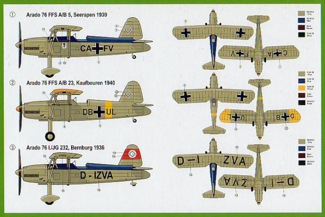 Resultado de imagen de arado ar 76 model kit