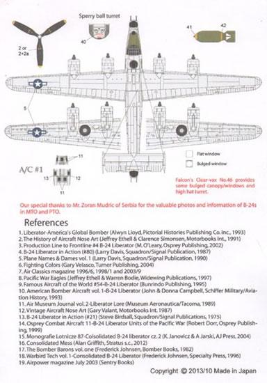 LifeLike 1/72 B-24 Liberator Pts 1-4 Review by Mark Davies