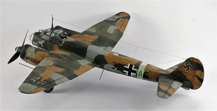Revells 148 scale Ju 88 A4 by Jan Goormans