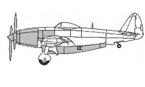XP-72 Super Thunderbolt by Alex Bernardo (Revell