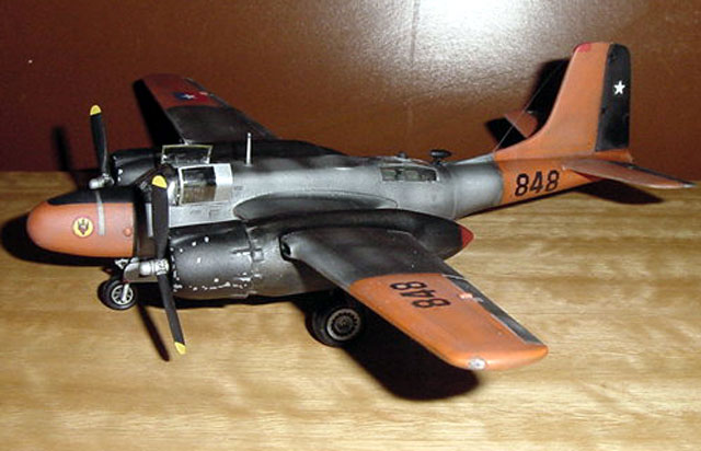 TB26B Invader by Nelson Aguila Airfix 172