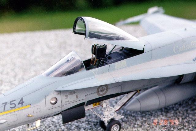 CF18 Hornet by Randy Lutz Hasegawa 148