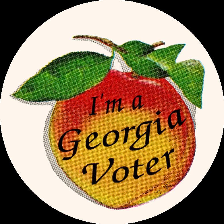 I'm a Georgia Voter Sticker 1200