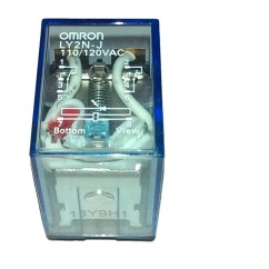 Omron Ly2n Relay Wiring Diagram For A Trailer Plug Ly2nj Ac110 120