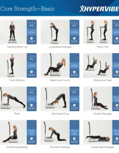 Whole body vibration plate exercises for the core muscles also machine exercise chart  strengthhypervibe rh hypervibe