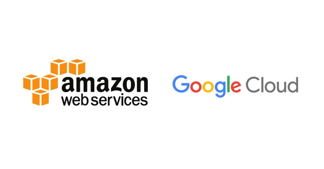 AWS Logo Google Cloud Logo DCIM