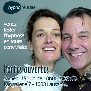 Portes Ouvertes hypnose à Lausanne