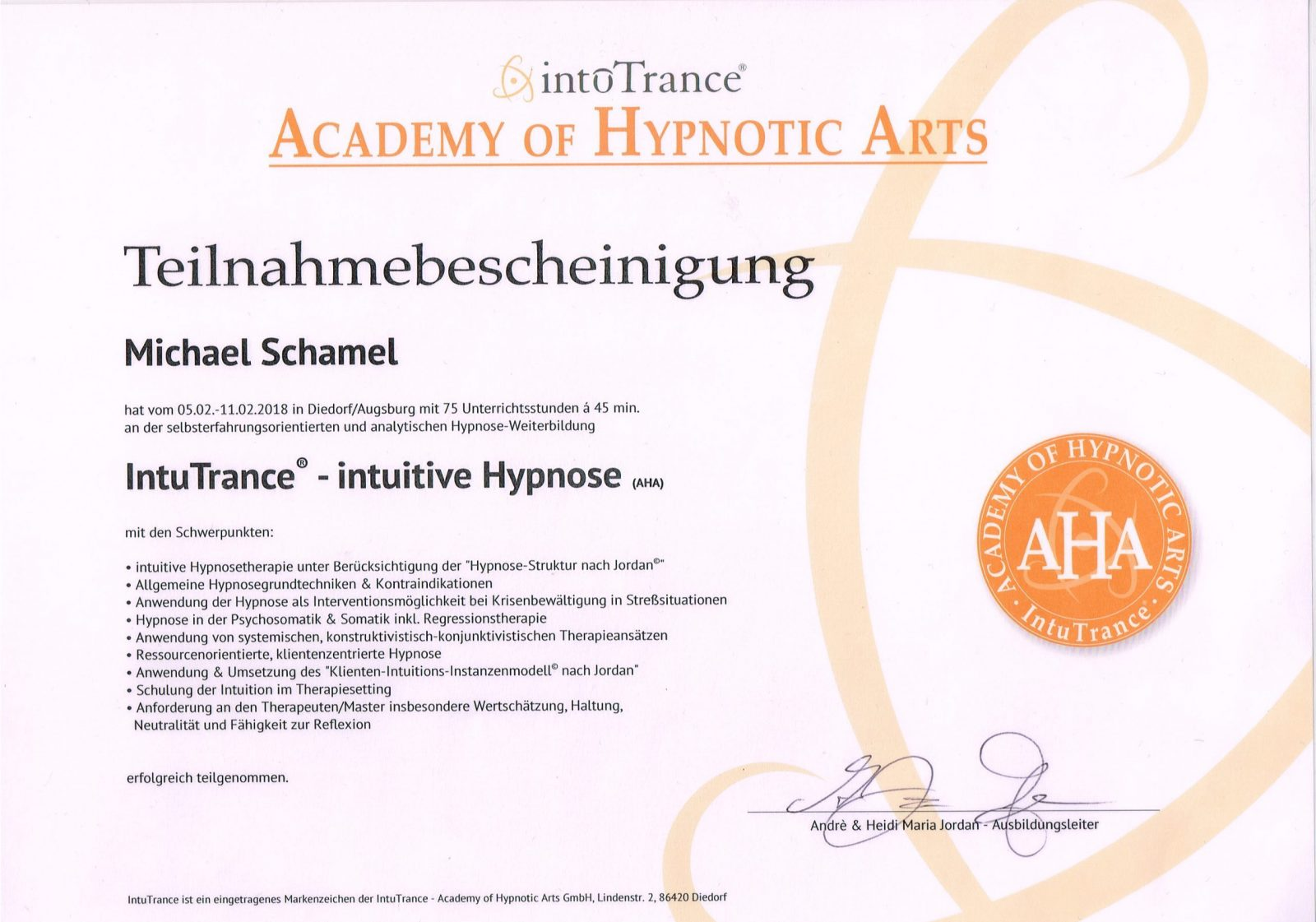 intuitive Hypnose