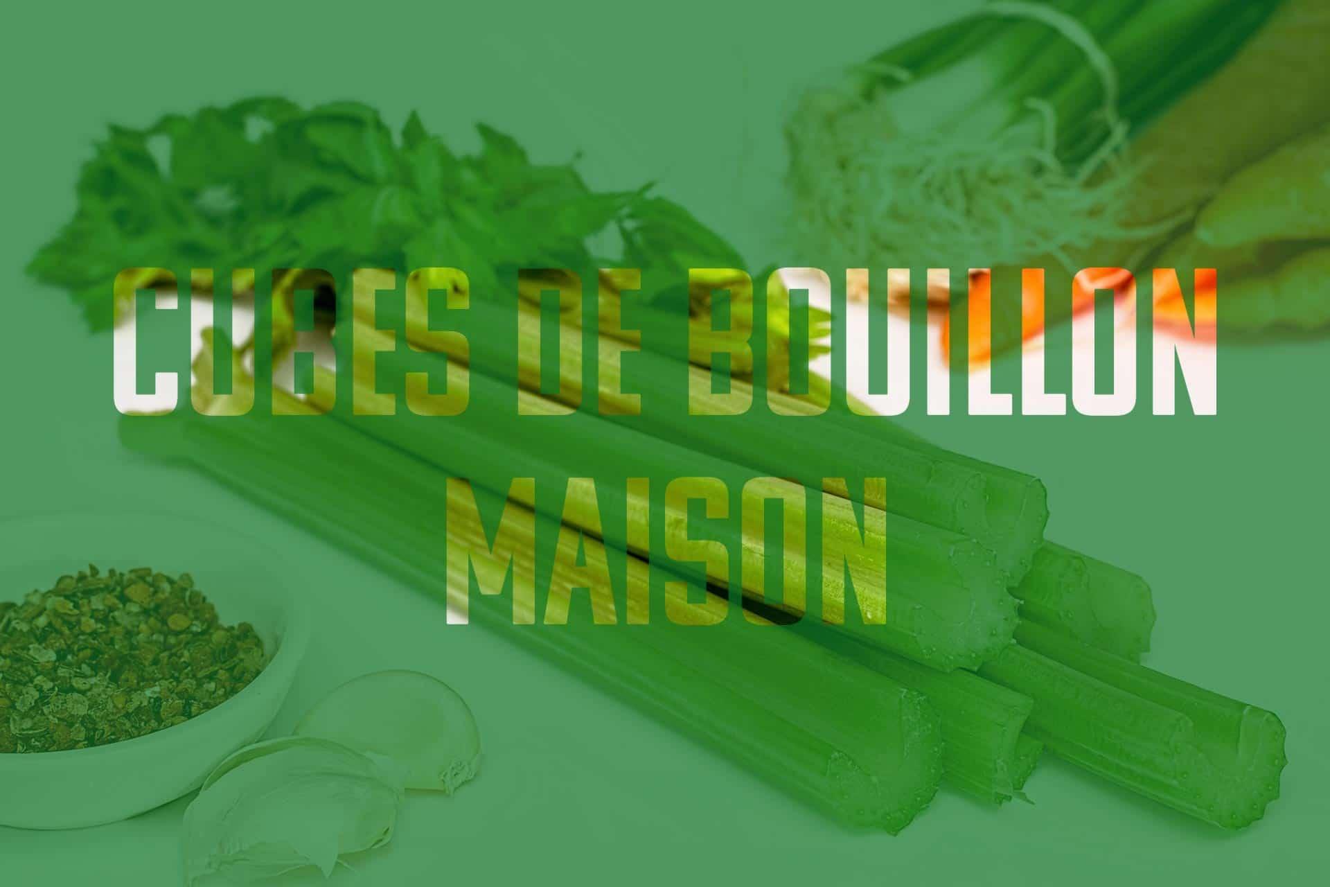 les ingrédients pour cuisiner vos propres bouillons de légumes