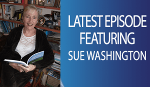 Sue Washington hypnotherapist is interviewed by Adam Eason for Hypnosis Weekly podcast