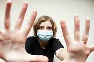 overcome fear of sick