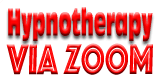 Hypnotherapy via Zoom