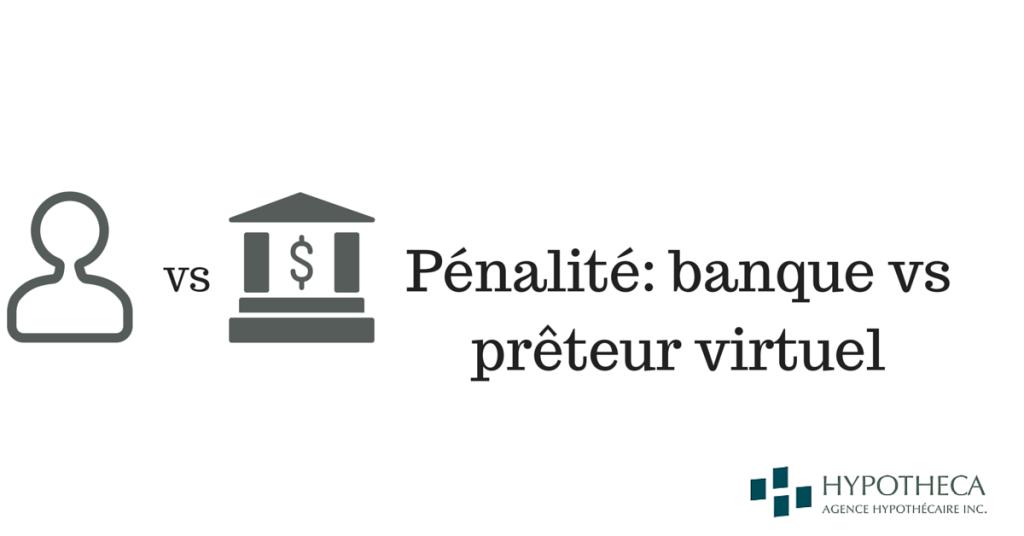 banque VS preteur
