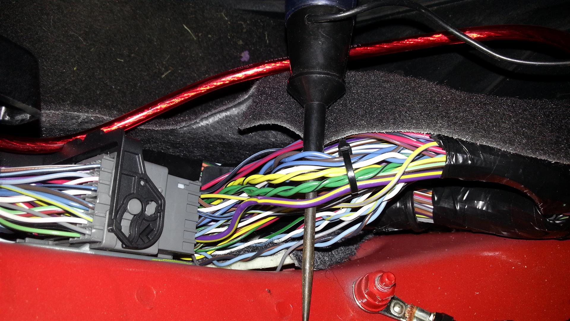 Chevy Aveo Radio Wire Colors