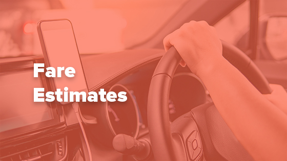 lyft fare estimates