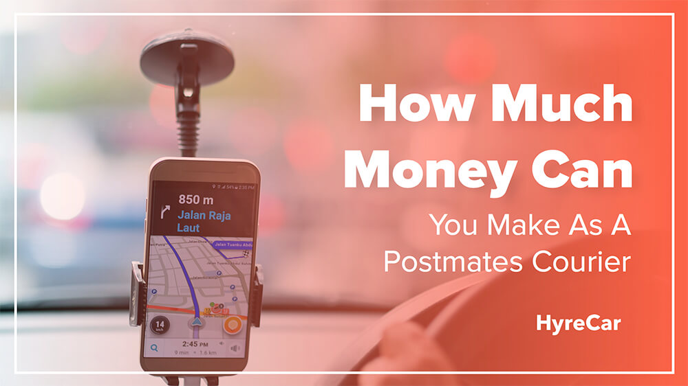 How Much Money Can You Make As Postmates Courier