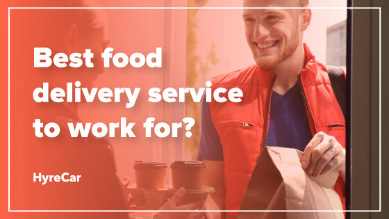 best food delivery service to work for