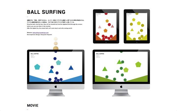BALL SURFING #unframe01