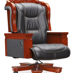 Wooden Executive Office Chairs Nice Dining Room Chair Covers Luxury Comfortable Leather Frame