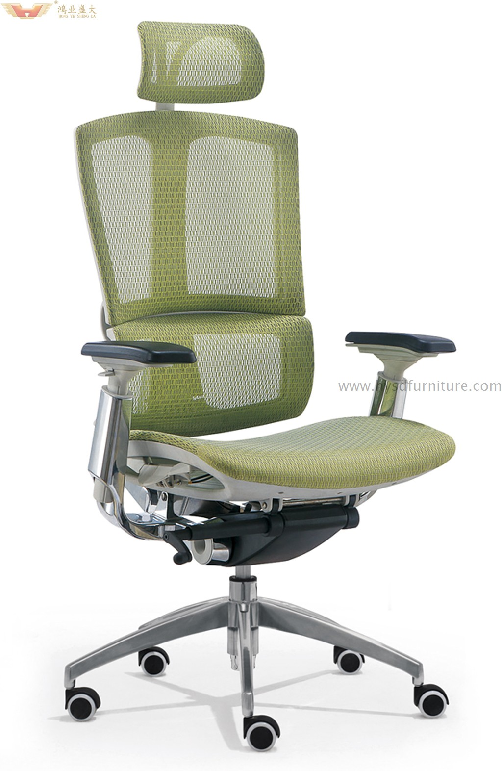 executive office chairs specifications tommy bahama chair cooler backpack high quality mesh hy 99a hongye shengda modern with headrest and armrest