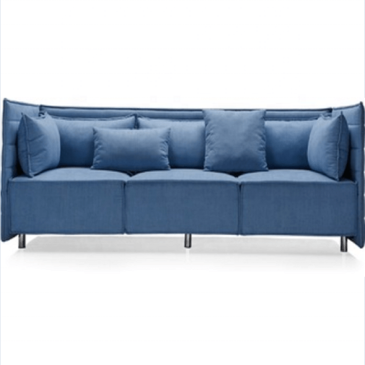 couch metal frame living room 7 seater