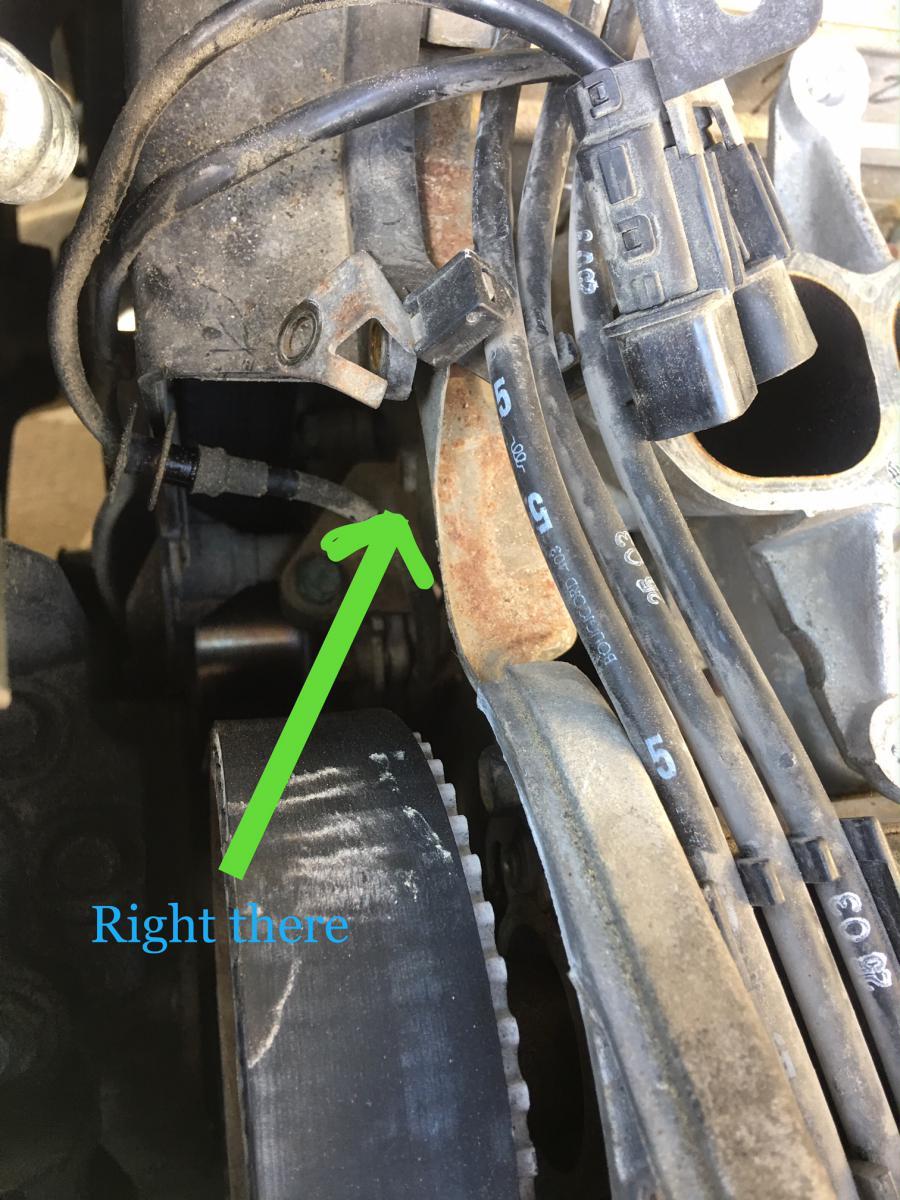 hight resolution of horizontal bolt on the lower intake manifold jpg