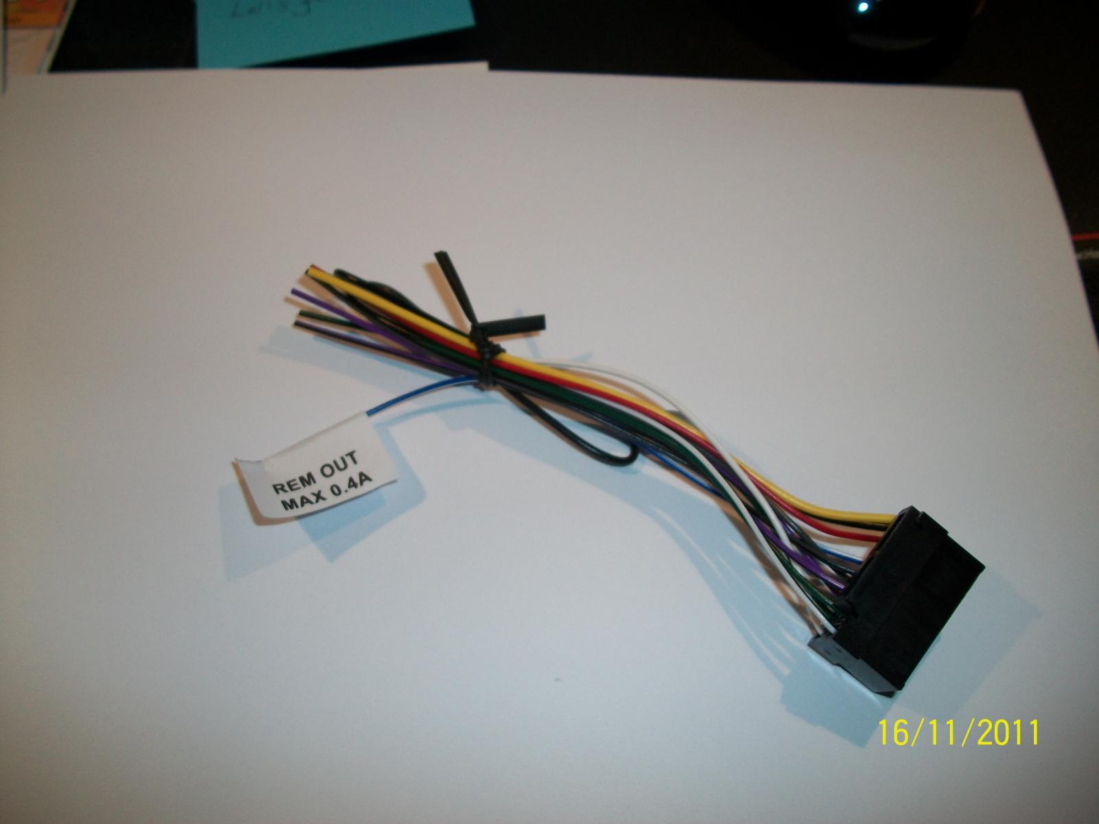 hight resolution of sony wiring harness jpg
