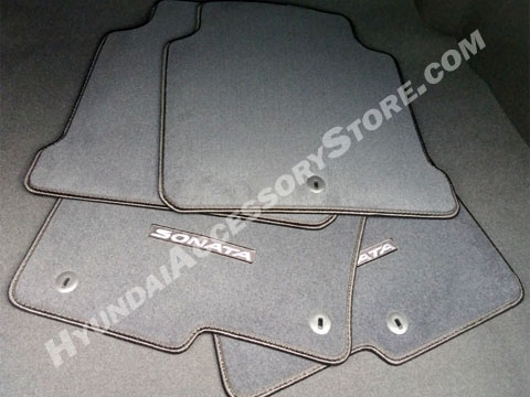 201519 Hyundai Sonata Carpeted Floor Mats