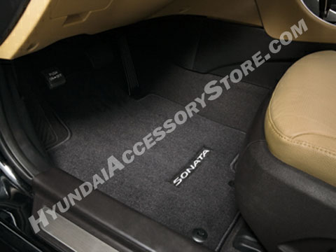 201114 Hyundai Sonata Carpeted Mats