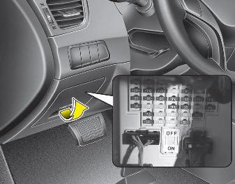 2003 Hyundai Elantra Fuse Box Hyundai Elantra Gt Gt Instrument Panel Fuse Replacement