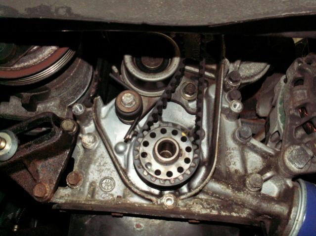 2007 Hyundai Accent Timing Belt Marks