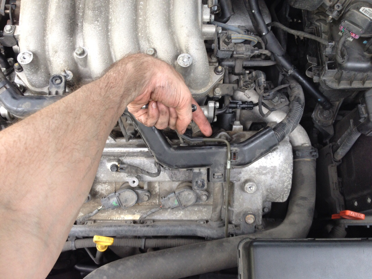 Hyundai Entourage Serpentine Belt Replacement And Diagram Kia Forum