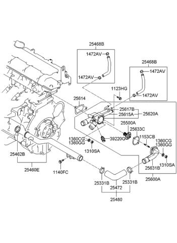 2007 Hyundai Tucson Engine Diagram : Rear Suspension For