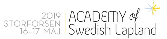 Academy of Swedish Lapland 2019 - logotyp