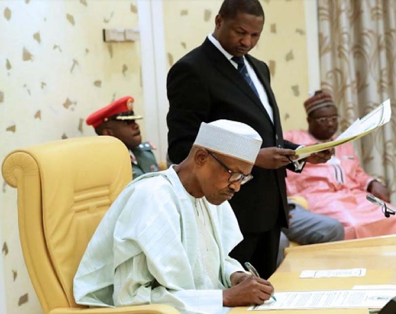 President Buhari signs Extradition Treaty with the United Arab Emirates (UAE)
