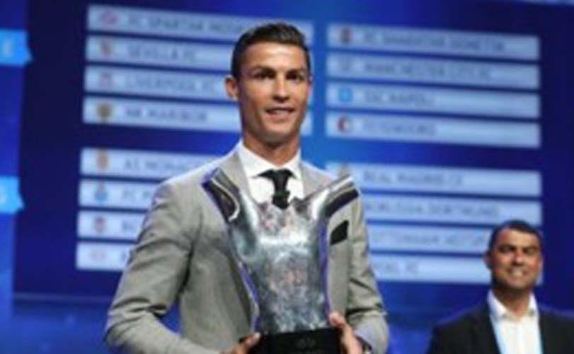 Ronaldo named Best Men's Player in Europe, 2016-2017