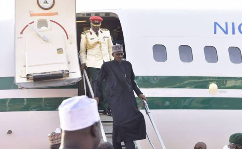 President Buhari returns to Nigeria