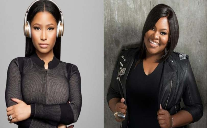 Tasha Cobbs-Leonard, singer of 'Break every chain' features Nicki Minaj