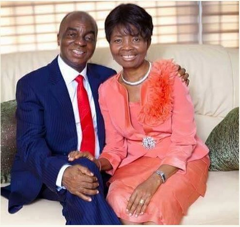 Throwback Bishop Oyedepo and his wife Faith Oyedepo