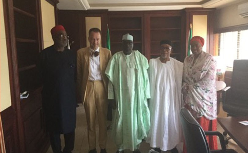 German ambassador visits PDP National Secretariat