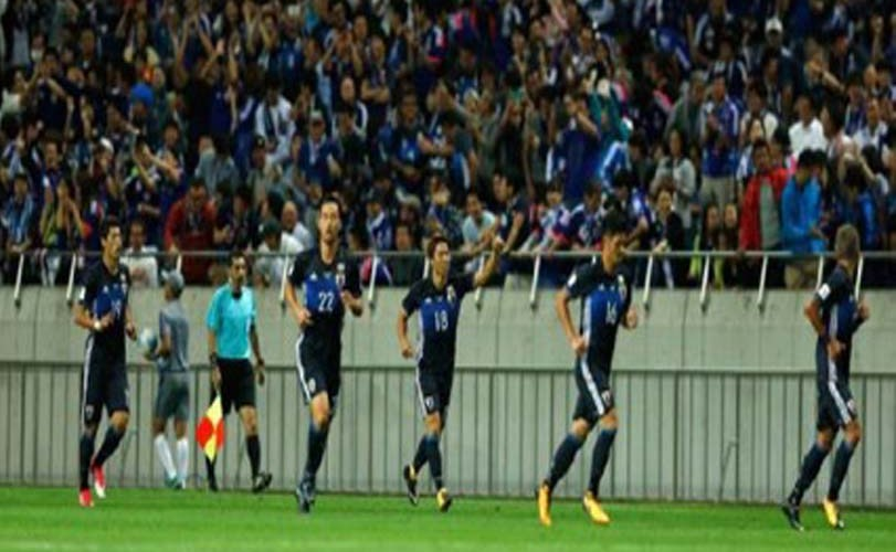 Japan qualifies for 2018 World Cup