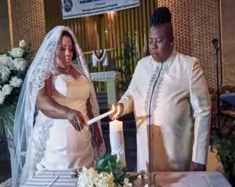 Two black American Lesbian Pastors Wed in the US