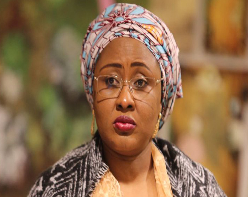 Two Powerful People Frustrating Buhari's Efforts To Perform – Aisha Buhari