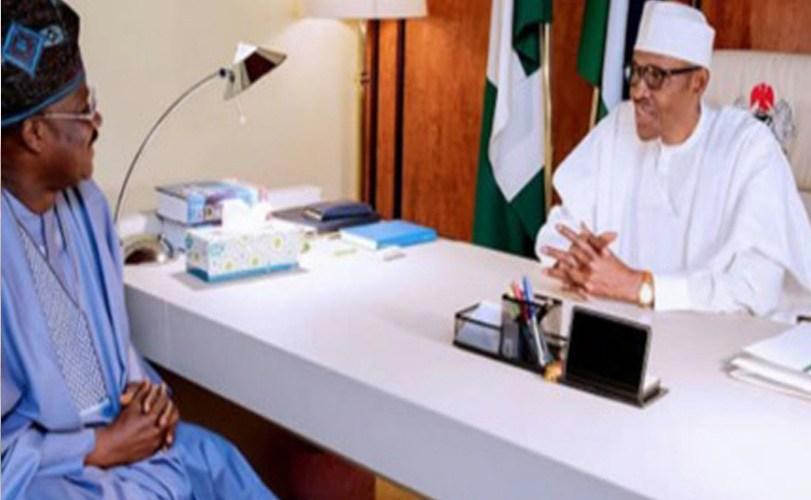 Ajimobi reports Olubadan of Ibadan to Buhari